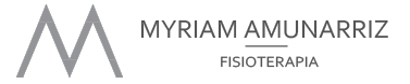 Myriam Amunarriz Fisioterapia Logo